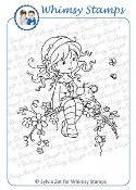 SWEET BLOSSOM Rubber Stamp Wee Stamps Collection from Whimsy Stamps