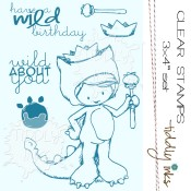WILD THANG Clear Stamp Set from Tiddly Inks
