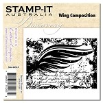 WING COMPOSITION Stamp It Australia Discovery Collection from Crafter's Companion