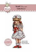 LITTLE NURSE Rubber Stamp Elisabeth Bell Get Well Collection from Whiff of Joy