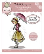 CARING THOUGHTS Rubber Stamp Elisabeth Bell Sympathy Collection from Whiff of Joy