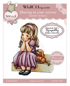 SHARING IN YOUR SORROW Rubber Stamp Elisabeth Bell Sympathy Collection from Whiff of Joy