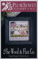 THE WOOL & FLAX CO Cross Stitch Pattern from Plum Street Samplers