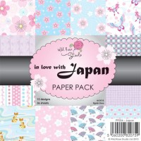 JAPAN 6x6 Scrapbook Patterned Paper Pack from Wild Rose Studio