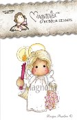 PEACEFUL TILDA Rubber Stamp Winter Wonderland Collection from Magnolia