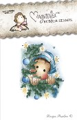 THE DAY BEFORE CHRISTMAS Rubber Stamp Winter Wonderland Collection from Magnolia